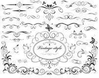 Vintage dividers Stock Image