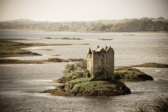 Vintage do castelo do assediador Imagens de Stock Royalty Free
