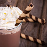 Vintage do chocolate quente fotografia de stock royalty free