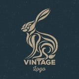 Vintage do coelho Fotografia de Stock Royalty Free