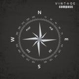 Vintage do compasso - ilustração do vetor do estilo Imagens de Stock Royalty Free