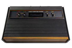 Vintage do console dos jogos Imagens de Stock Royalty Free