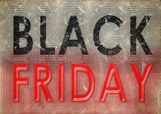 Vintage do grunge de Black Friday imagens de stock royalty free