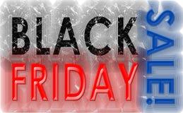 Vintage do grunge de Black Friday imagem de stock royalty free