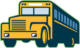 Vintage do ônibus escolar retro Imagem de Stock Royalty Free