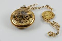 Vintage do relógio de bolso Foto de Stock Royalty Free