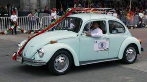 Vintage do sedan de Volkswagen Imagens de Stock Royalty Free