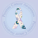 Vintage do selo da conscientização do câncer da próstata ilustração royalty free