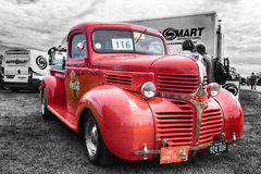 Vintage Dodge Coca Cola red truck Royalty Free Stock Photos