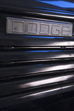 Vintage Dodge Nameplate Stock Photography