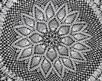 Free Vintage Doily Royalty Free Stock Photos - 23771698