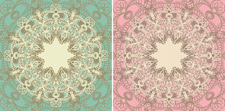 Vintage doily Stock Images