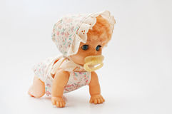 Vintage doll stock image