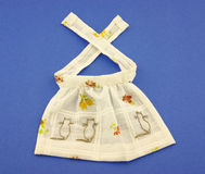 Vintage doll apron Stock Image