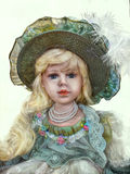 Vintage Doll Stock Photography