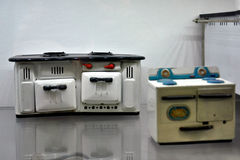 Vintage doll house cooking stove Stock Photography
