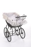 Vintage doll stroller Royalty Free Stock Images