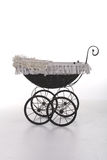 Vintage doll stroller Royalty Free Stock Photography