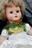 Vintage doll toy Stock Images