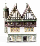 Vintage Dollhouse isolated Royalty Free Stock Image