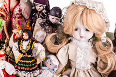 Vintage dolls Royalty Free Stock Images