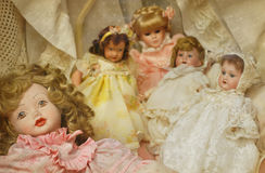 Vintage dolls Royalty Free Stock Photos