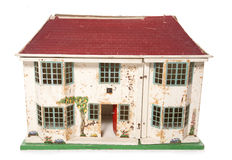 Vintage dolls house Stock Image