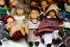 Vintage dolls Stock Photography