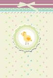 Vintage doodle retro bird chicken vector Royalty Free Stock Photography