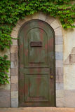 Vintage door Stock Photography