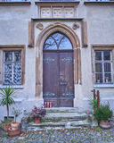 Vintage door in Altenburg, Germany Stock Photo
