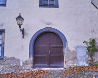 Vintage door in Altenburg,  Germany Royalty Free Stock Photos