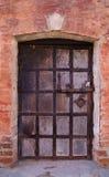 Vintage door stock image