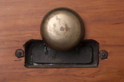 Vintage door bell Stock Image