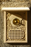 Vintage door bell Royalty Free Stock Photography