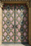 Vintage door of church Royalty Free Stock Photography