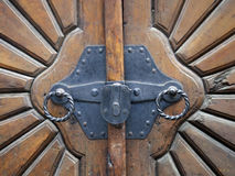 Vintage door detail Royalty Free Stock Images
