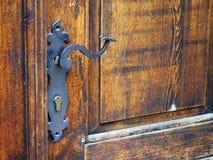 Vintage door detail Stock Image