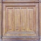 Vintage door frame detail Stock Photography