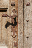Vintage door handle Royalty Free Stock Images
