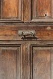 Vintage door handle Antigua Guatemala Royalty Free Stock Photos