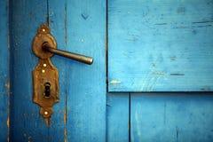 Vintage door handle Royalty Free Stock Photography