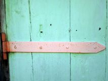 Vintage door hinge Stock Photos