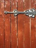 Vintage Door Hinge Royalty Free Stock Photography