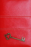 Vintage door key Royalty Free Stock Photo