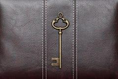 Vintage door key Stock Photography