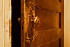Vintage door knob Royalty Free Stock Photos