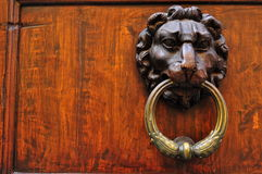 Vintage door knob in Italy Stock Photography