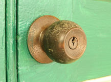 Vintage door knob Stock Image