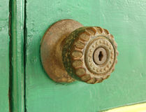 Vintage door knob Royalty Free Stock Image